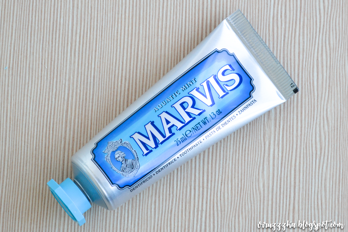 Marvis Aquatic Mint Toothpaste Review