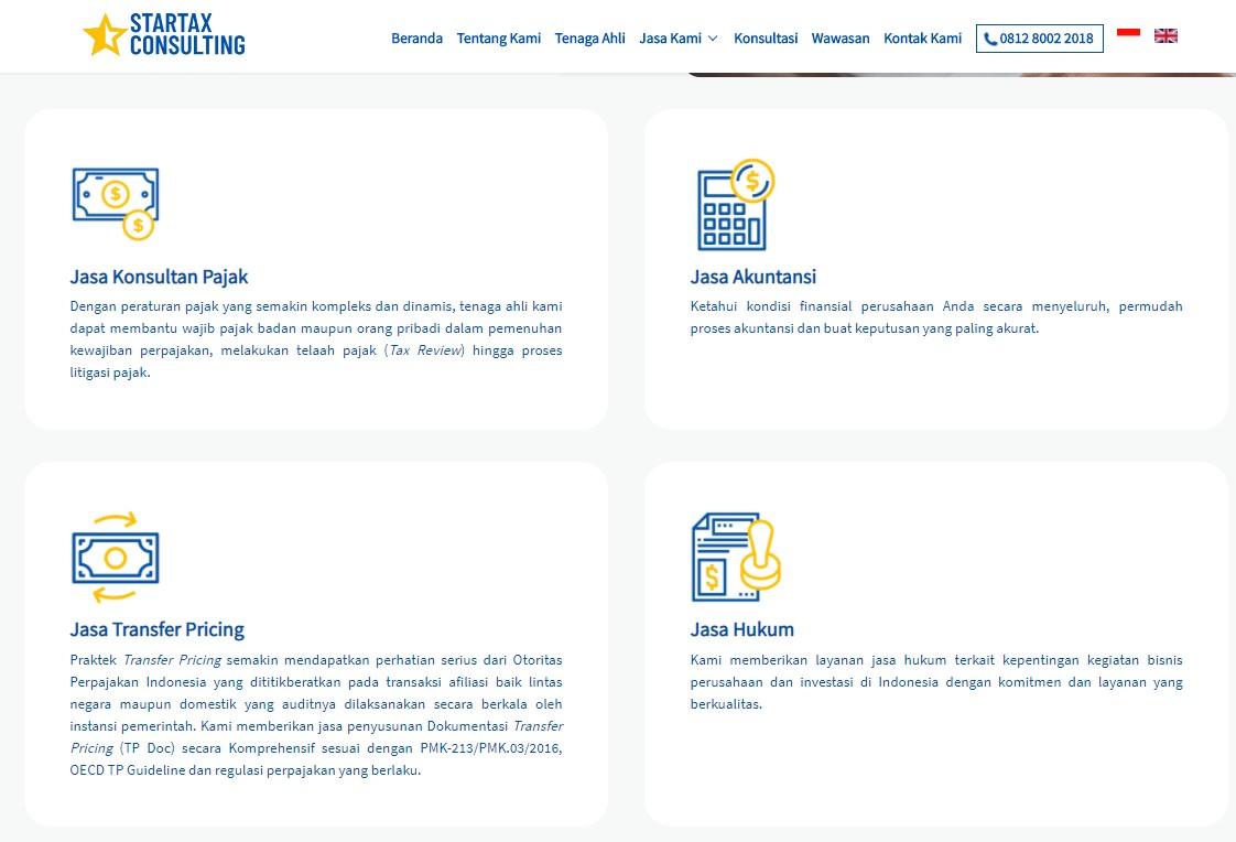 layanan startax consulting cocok untuk umkm