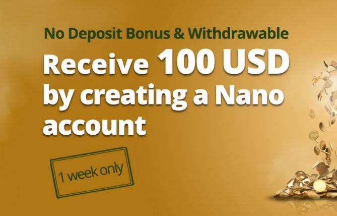 Bonus Forex Tanpa Deposit Aron Groups $100 (Akun Nano)