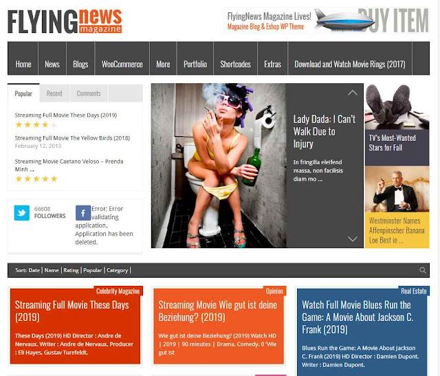 FlyingNews - Responsive Magazine Theme