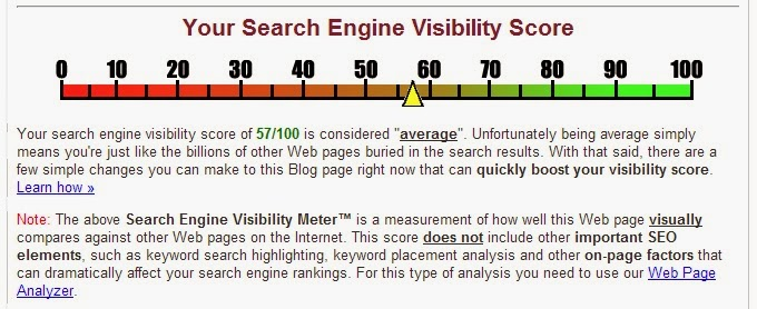 how to boost your search engine visibility score
