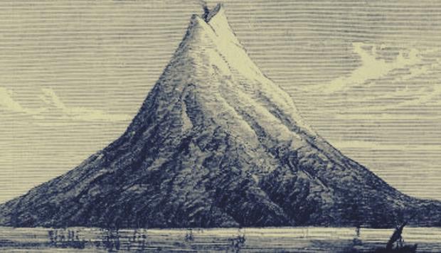 gambar induk krakatau purba
