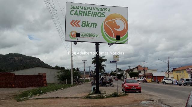 Prefeitura de Carneiros/AL, divulga edital para realização de concurso público com 41 vagas