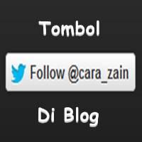 Cara Membuat Tombol Follow Twitter Di Blog Terbaru