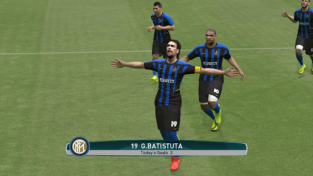 Lazio 2006 and Inter 2002 Kit For PES 2017 by ec27, dartion