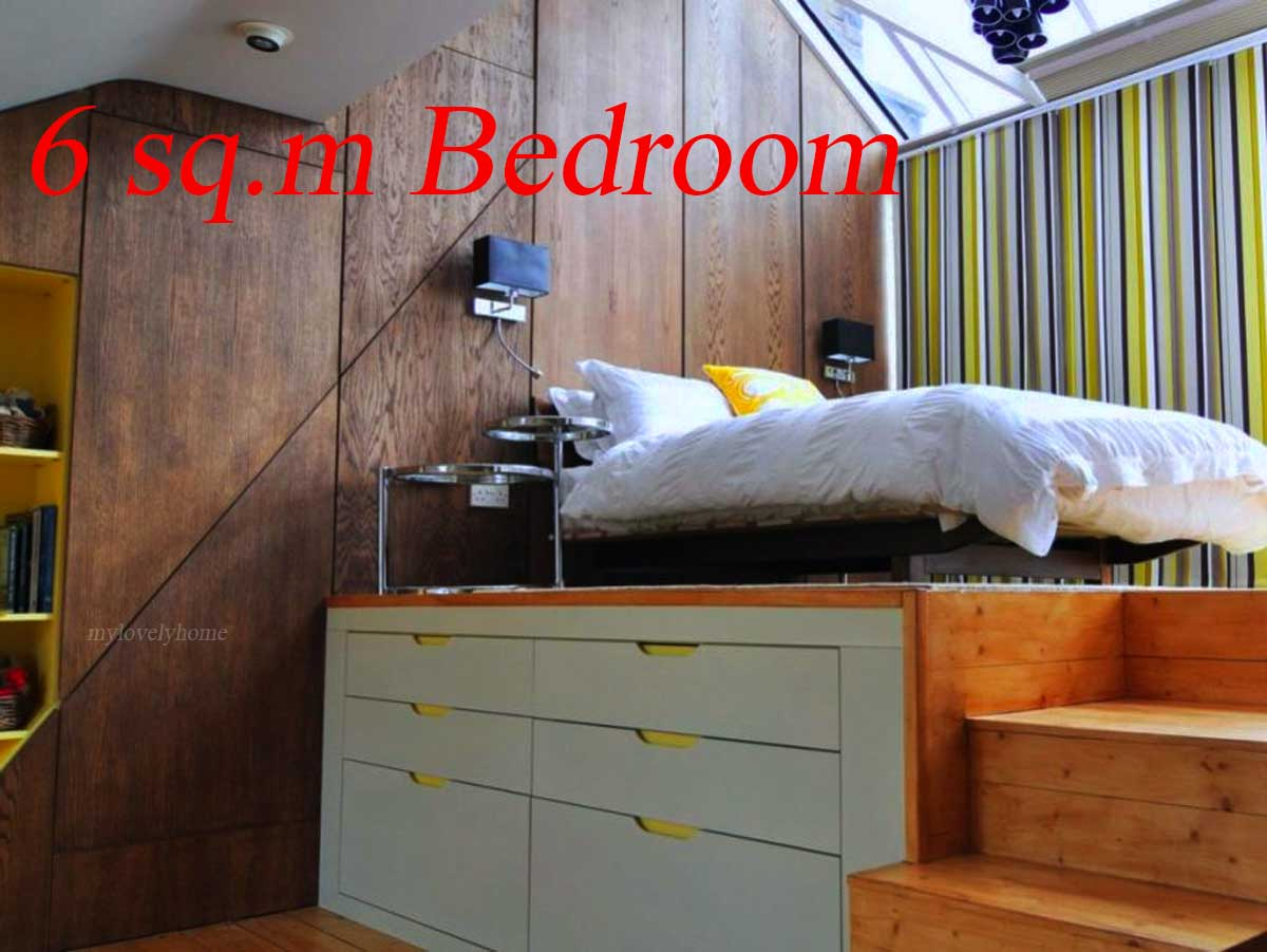 6 Square Meters Bedroom Design Ideas - My Lovely Home