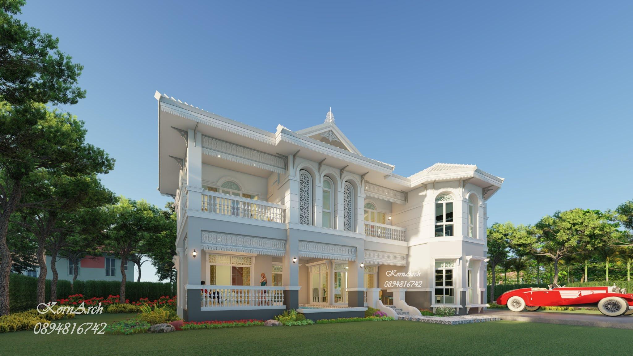 แบบรีสอร์ทสไตล์สไตล์โคโลเนียล คุณธัญญารัตน์ วรรณหม้อ สถานที่ก่อสร้าง อ.บ้านฉาง จ.ระยอง #รับออกแบบบ้าน #เขียนแบบก่อสร้าง #แบบยื่นขออนุญาต #แบบโรงงาน #แบบรีสอร์ท #แบบอพาร์ทเมนท์ #แบบโรงแรม #แบบร้านอาหาร #แบบออฟฟิศ #สถาปนิก 0894816742