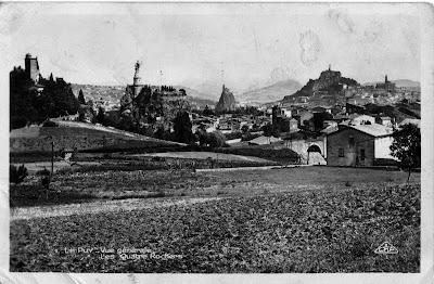 Carte postale ancienne : Le Puy et sa région