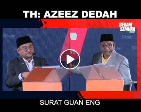 Abdul Azeez dedah pasal surat Lim Guan Eng