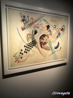 composizione sfondo bianco Kandinsky