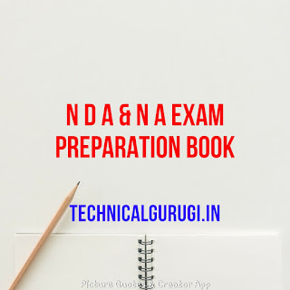 NDA EXAM PREPARATION BOOK