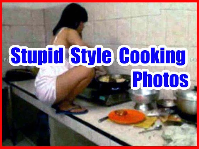 People Doing Stupid Style Cooking Original Photos