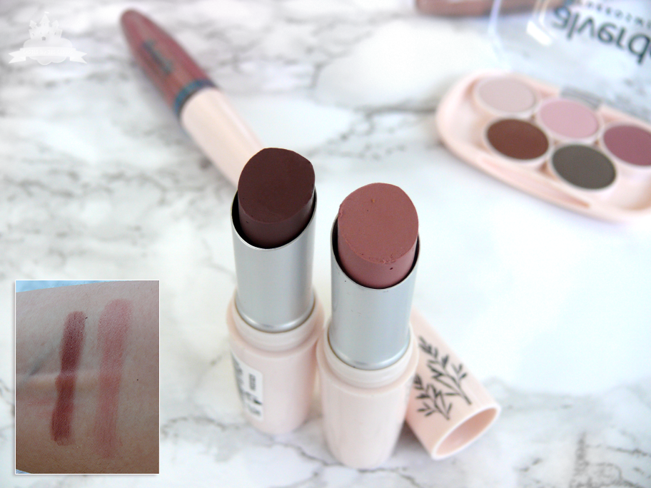 All about nude Lippenstift Nude Chocolate und Nude Only