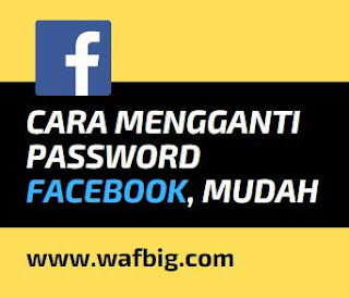 cara Mengganti Password Facebook di FB Lite
