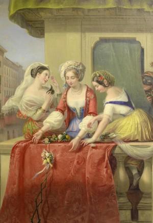 AS TRÊS GAROTAS - Conto Humorísitco de Pierre-Jean-Baptiste Nougaret