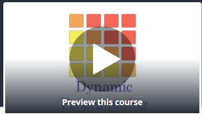 Master the art of Dynamic Programming Udemy course