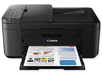 Fonctions tout-en-un de la série PIXMA TR4551 de Canon Les imprimantes multifonctions 4-en-1 compactes, performantes, imprimables, copiées, numérisées, faxées, sans fil bénéficient d'une connectivité sans fil Wi-Fi et cloud idéale pour les particulier