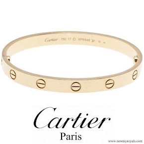 Meghan Markle Cartier Love Yellow Gold Bracelet
