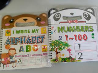 buku prasekolah murah kenal huruf dan nombor