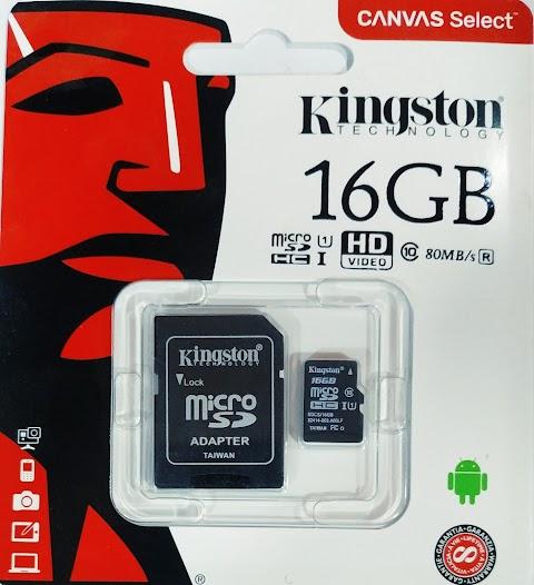 كارت ميموري كينجستون سعة 16جيجا USB3 فقط 65 جنية