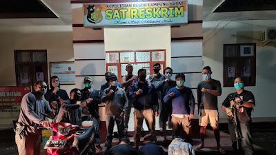 Bobol Rumah Warga, Tiga Pemuda Asal Belalau Lambar Diamankan Polisi