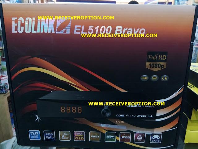 ECOLINK EL5100 BRAVO HD RECEIVER POWERVU KEY SOFTWARE