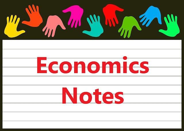 economics class 11 notes
