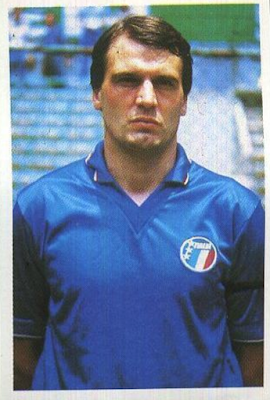 Marco Tardelli Figurina Flash 1986