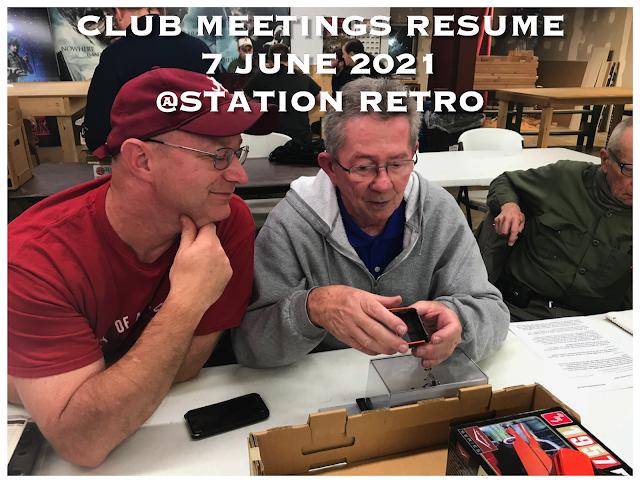 Meetings Resume 7 June @ Station Retro