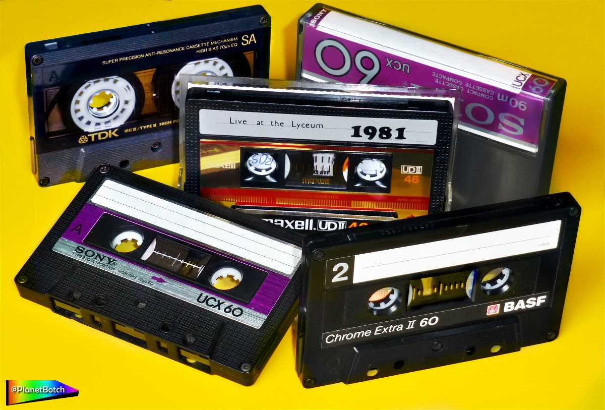 10 Reasons Why High Quality Audio Cassette Tapes Can Sound Muddy or Dull |  Planet Botch