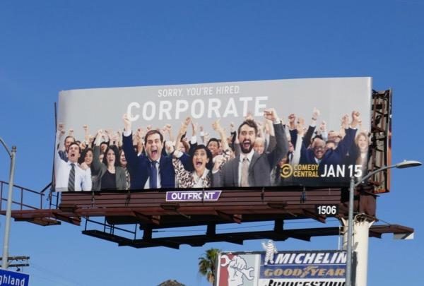 Corporate season 2 billboard