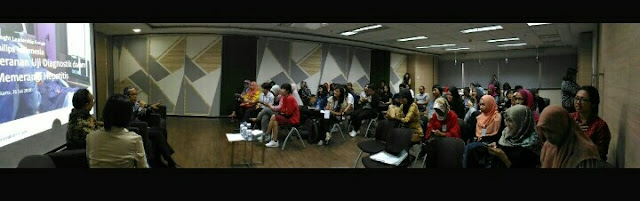Suasana acara Forum Diskusi Philips Indonesia - Dok. Fenni Bungsu