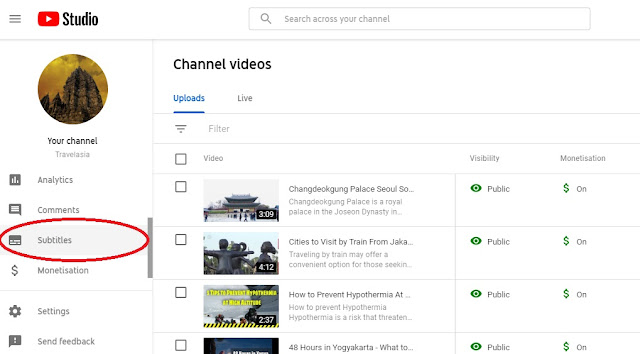 target penonton youtube luar negeri