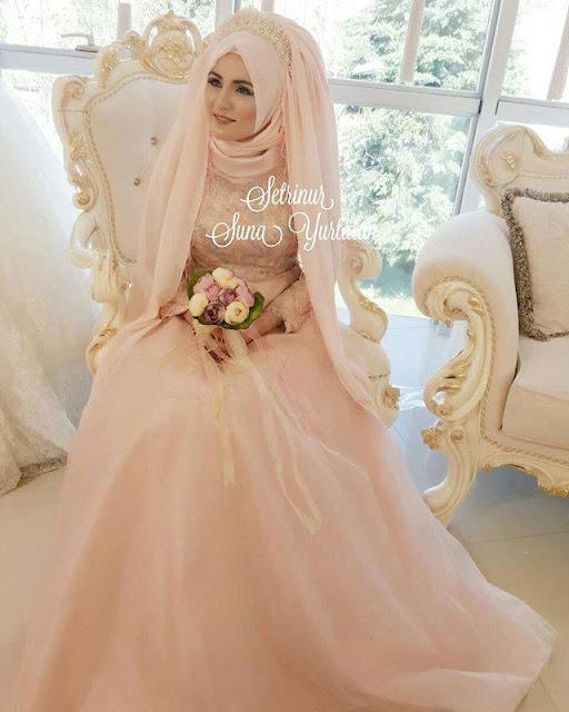 Robe-hijab-mariage-2016-2017