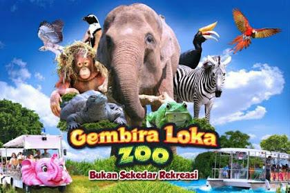 Tiket Bonbin Gembira Loka, Gambar + Harga Tiket Masuk + Lokasi Gembira Loka Zoo