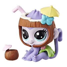Littlest Pet Shop Series 3 Hungry Pets Monkey (#3-185) Pet
