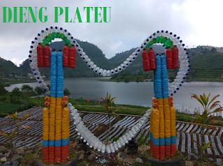 The Natural Beauty Of Dieng Plateau, Wonosobo Central Java, Indonesia
