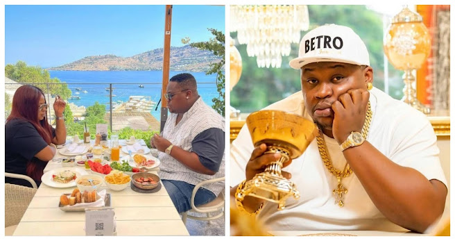 Nothing can ever separate I and my wife, we share love and money – Cubana Chief Priest reveals