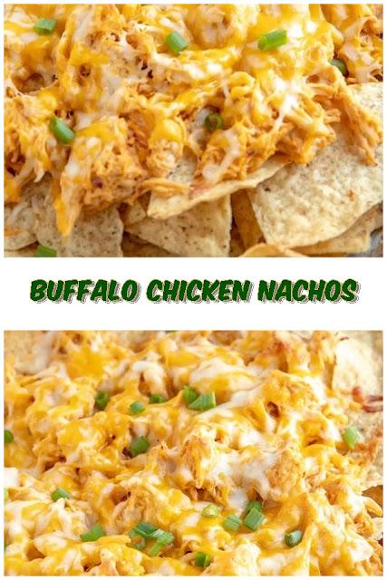 #Buffalo #Chicken #Nachos #crockpotrecipes #chickenbreastrecipes #easychickenrecipes