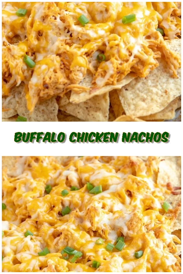 #Buffalo #Chicken #Nachos #crockpotrecipes #chickenbreastrecipes #easychickenrecipes