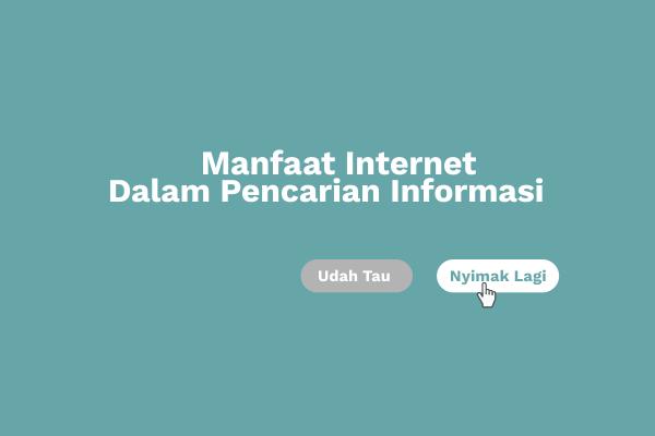 Manfaat Internet Bagi Pelajar di Bidang Pendidikan