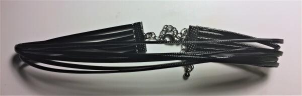 leather strip choker