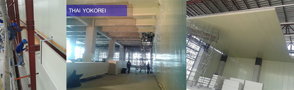 CK Design & Service ผู้นำด้านการออกแบบและบริการติดตั้ง งานผนัง ไอโซ-วอร์ ISO-wall หรือ Sandwich panel ทั้งงานผนังห้องคลีนรูมและห้องเย็น