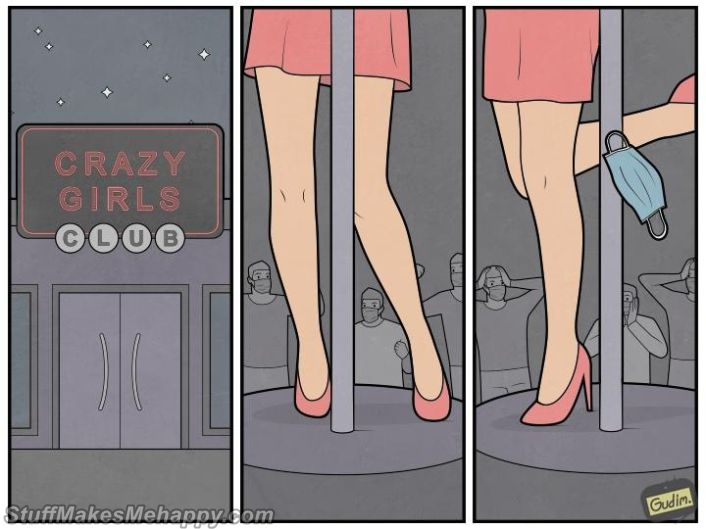 20 Topical Illustrations by Gudim Reflecting What Is Happening In Our World