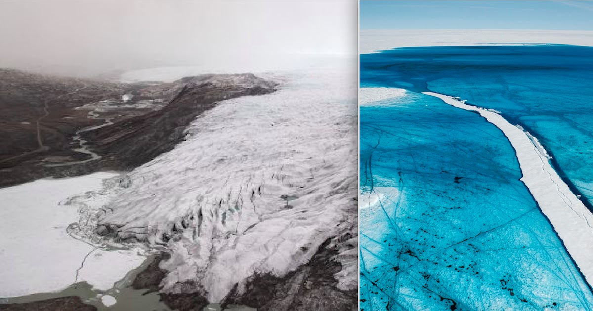 Northern Hemisphere Heatwave Causes 'Massive Melting Event' In Greenland
