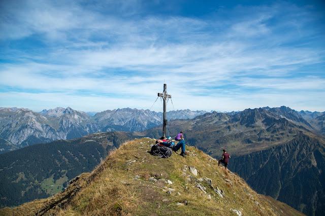 Seetalwanderung und Klettersteig Hochjoch  Silvretta Montafon 11