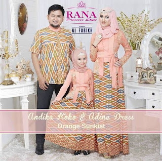 Contoh Model Baju Batik Couple Modern