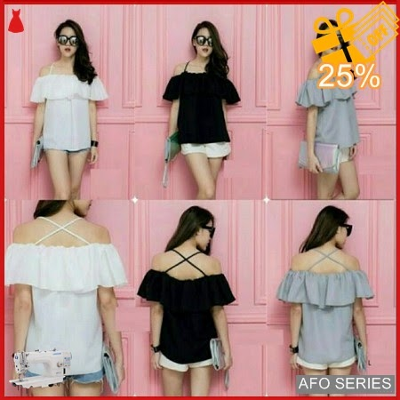 AFO682 Model Fashion Seta Line Modis Murah BMGShop