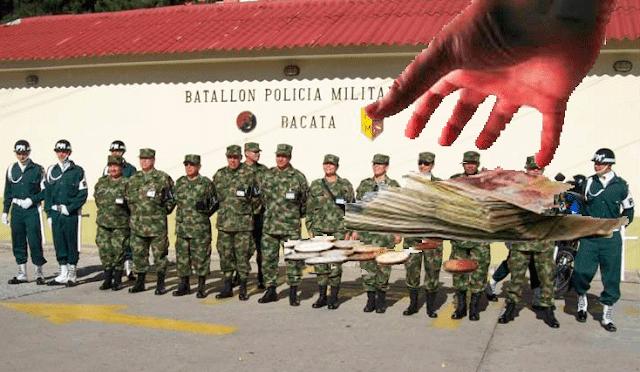 A juicio soldado que se habría apropiado de la nómina de sus compañeros
