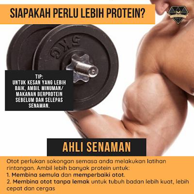 Siapakah Yang Perlu Protein Dalam Diet Harian?